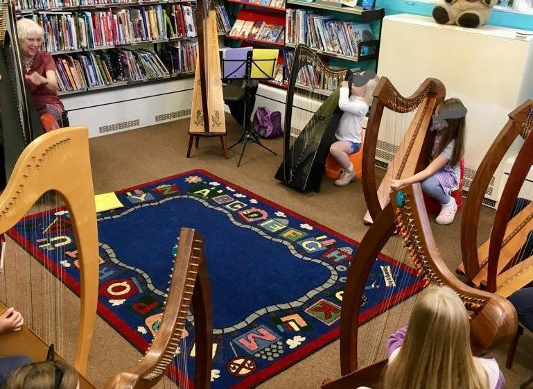CHILDREN'S HARP WORKSHOP – A FUN SESSION IN THE LIBRARY